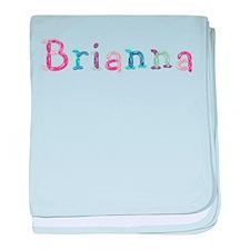 Brianna Princess Balloons baby blanket