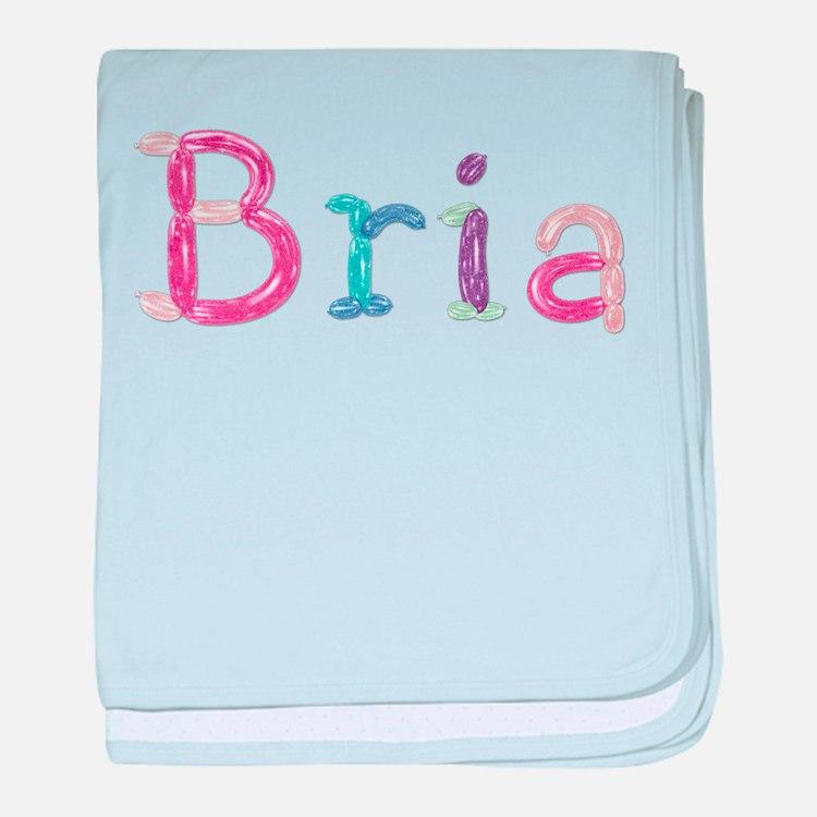 Bria Princess Balloons baby blanket