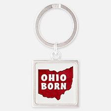 OHIO BORN Keychains