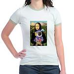 Mona & Sir Pug Jr. Ringer T-Shirt