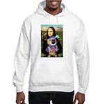 Mona & Sir Pug Hooded Sweatshirt
