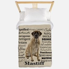 Mastiff Traits Twin Duvet