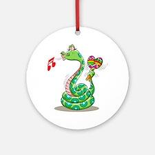 Musical Snake Ornament (Round)
