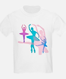 Pretty Dancing Ballerinas T-Shirt