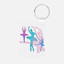 Pretty Dancing Ballerinas Keychains