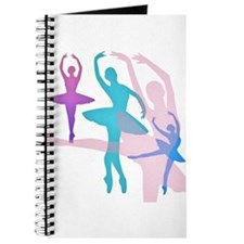 Pretty Dancing Ballerinas Journal
