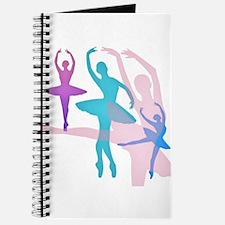 Pretty Dancing Ballerinas Journal