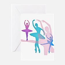 Pretty Dancing Ballerina Greeting Cards (Pk of 20)