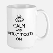 Keep Calm and Lottery Tickets ON Mugs