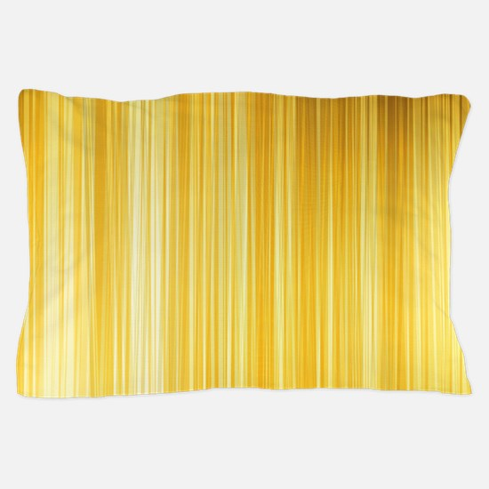 Gold and Yellows Pillow Case