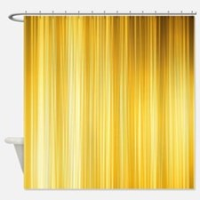 Gold and Yellows Shower Curtain