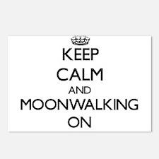 Keep Calm and Moonwalking Postcards (Package of 8)