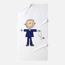 Male Nurse Beach Towel