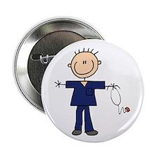 """Male Nurse 2.25"""" Button (10 pack)"""