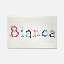 Bianca Princess Balloons Rectangle Magnet