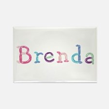 Brenda Princess Balloons Rectangle Magnet