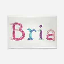 Bria Princess Balloons Rectangle Magnet