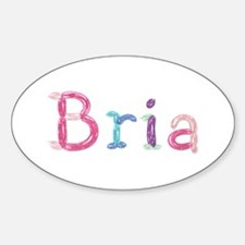 Bria Princess Balloons Oval Decal