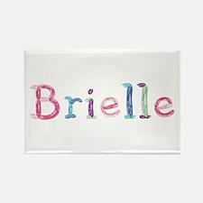 Brielle Princess Balloons Rectangle Magnet