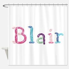 Blair Princess Balloons Shower Curtain