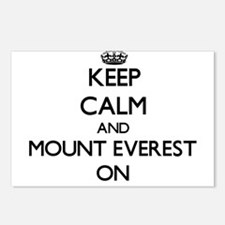 Keep Calm and Mount Evere Postcards (Package of 8)