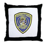 Southeast Animal Control Throw Pillow