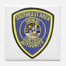 Southeast Animal Control Tile Coaster