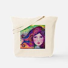Into the Light - Boho Girl Tote Bag