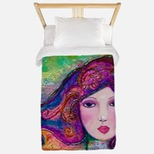 Into the Light - Boho Girl Twin Duvet