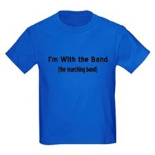 I'm w/ the marching band T