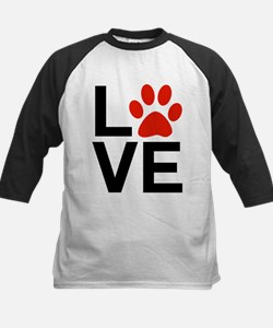 Love Dogs / Cats Pawprints Tee