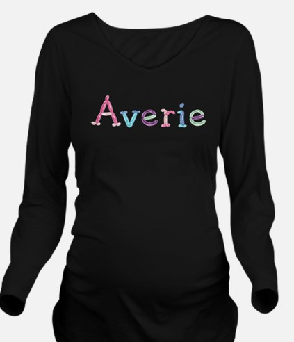 Averie Princess Balloons Long Sleeve Maternity T-S