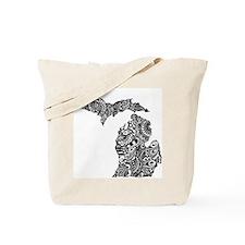 Unique Michigan Tote Bag