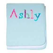 Ashly Princess Balloons baby blanket