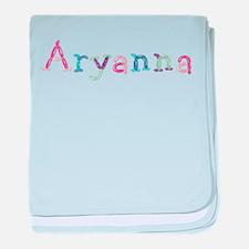 Aryanna Princess Balloons baby blanket
