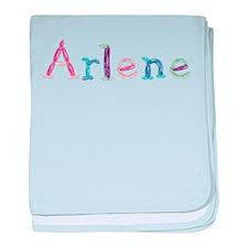 Arlene Princess Balloons baby blanket