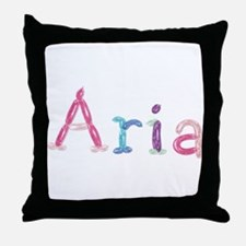 Aria Princess Balloons Throw Pillow