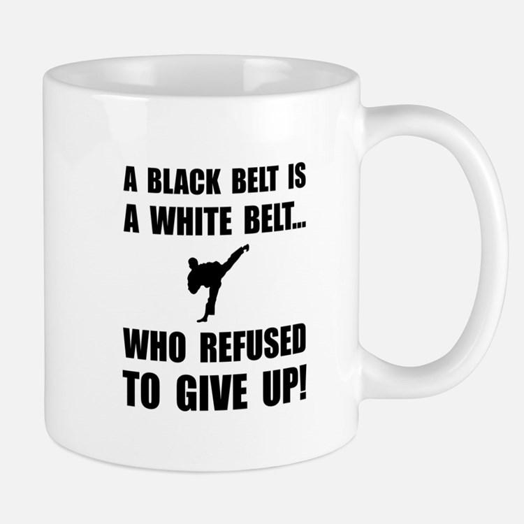 Black Belt Refusal Mugs