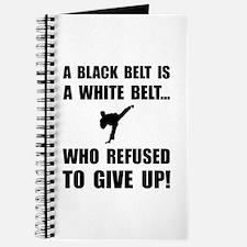Black Belt Refusal Journal