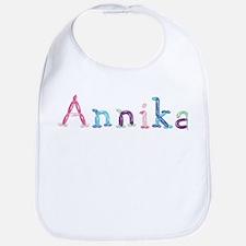 Annika Princess Balloons Bib