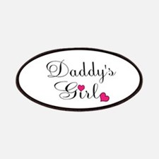 Daddys Girl Pink Hearts Patch