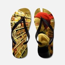 Grocery Gnome Flip Flops
