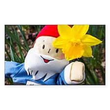 Daffodil Gnome Decal
