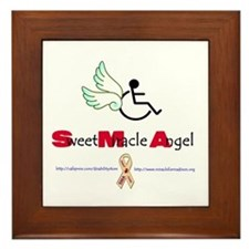 SMA Angel Framed Tile