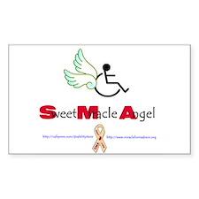 SMA Angel Rectangle Decal
