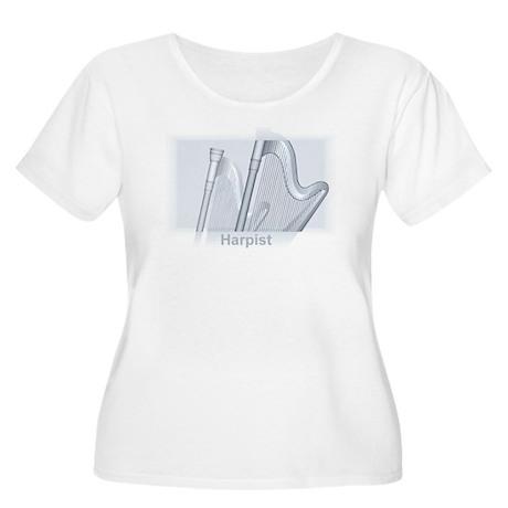 Harpist Women's Plus Size Scoop Neck T-Shirt