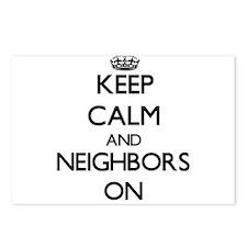 Keep Calm and Neighbors O Postcards (Package of 8)