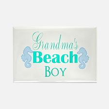 Grandmas Beach Boy Seahorses Magnets