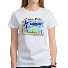 Cute Progressive christianity Tee