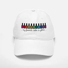 My Favorite Color Is Glitter Baseball Baseball Cap